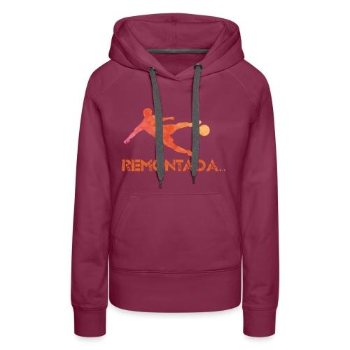 Remontada Facette - Sweat-shirt à capuche Premium pour femmes