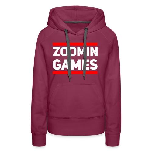 9815 2CRun ZG White - Women's Premium Hoodie