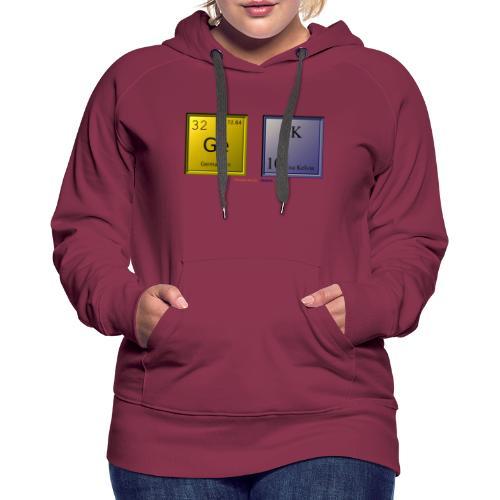 GEEK IV - Sweat-shirt à capuche Premium pour femmes