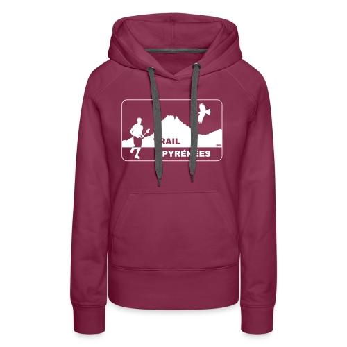 Trail Pyrénées V4 - Sweat-shirt à capuche Premium pour femmes