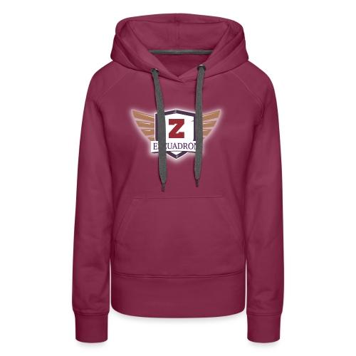 Escuadrón Z - Sudadera con capucha premium para mujer