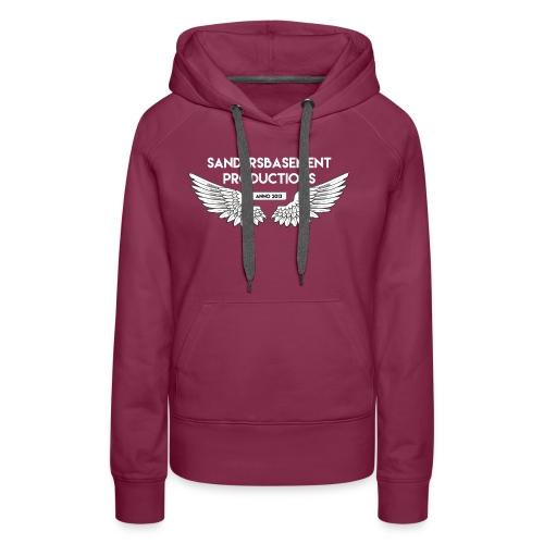 T SHIRT logo wit png png - Vrouwen Premium hoodie