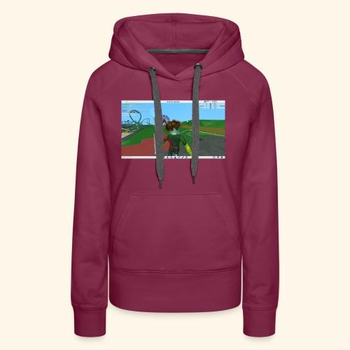 randie gaming t shrit - Vrouwen Premium hoodie