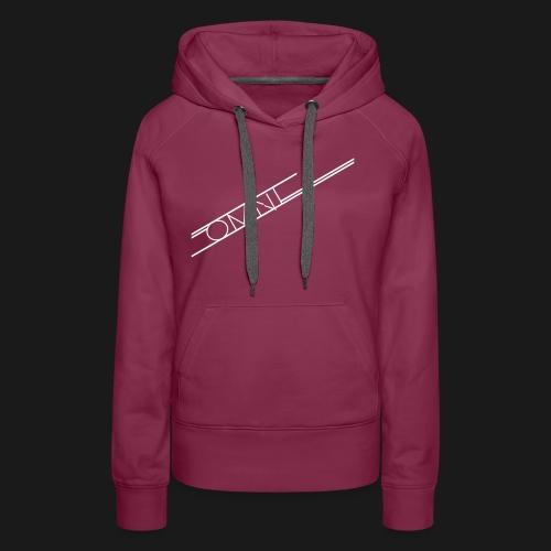 Oszillation OMNI Womens RED T- Shirt - Frauen Premium Hoodie