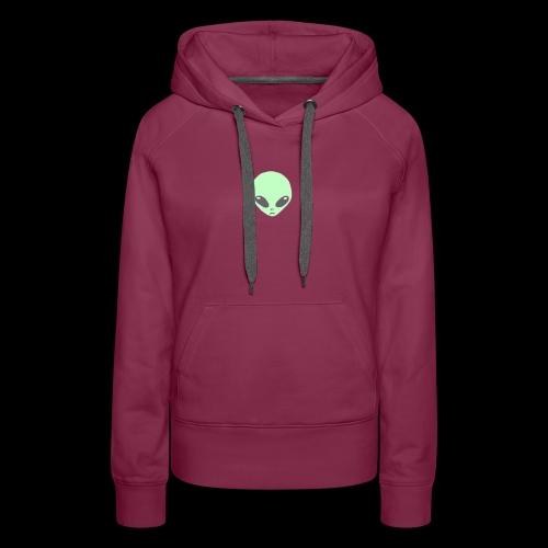 Alien-pet - Vrouwen Premium hoodie