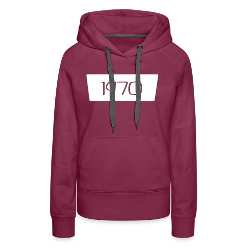 1970 - Vrouwen Premium hoodie