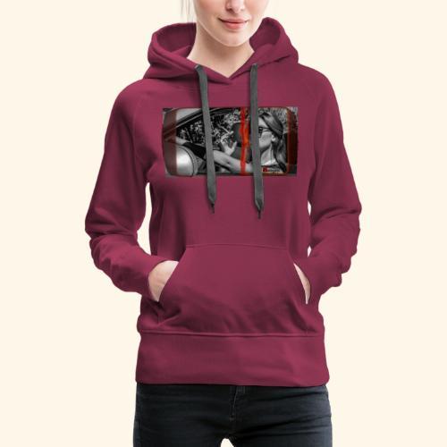 SUNGLASS - Sweat-shirt à capuche Premium pour femmes
