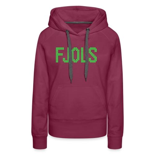 FJOLS Grøn - Dame Premium hættetrøje