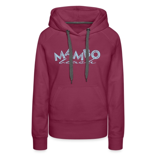 logo mambo blauw los eps orgineel - Vrouwen Premium hoodie