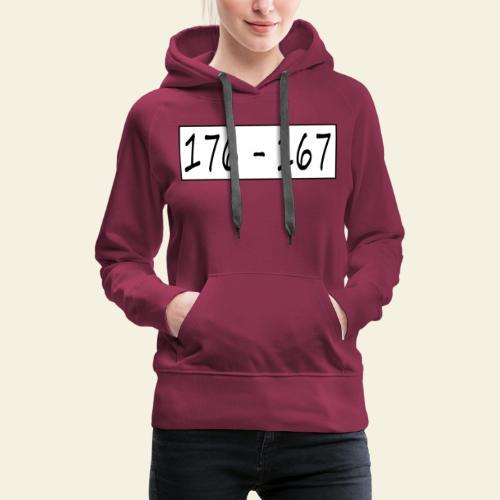 176167 - Dame Premium hættetrøje