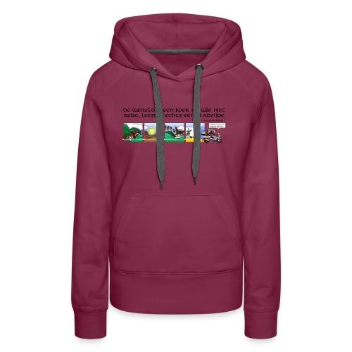 travel NEDERLANDS - Vrouwen Premium hoodie
