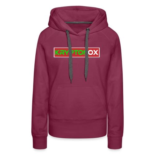 Kryptonox Logo - Women's Premium Hoodie