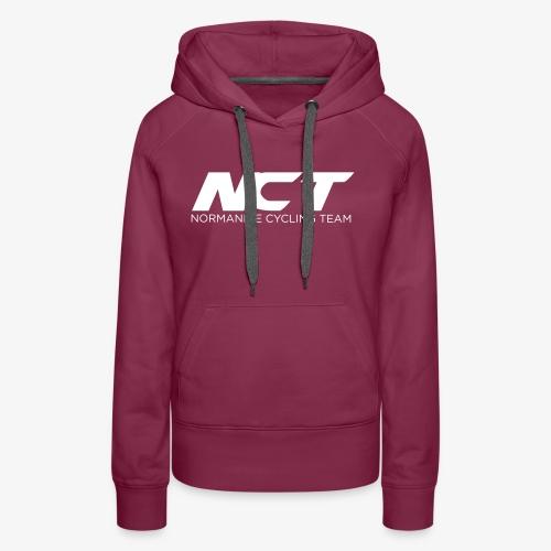 Logo NCT 2017 - Sweat-shirt à capuche Premium pour femmes