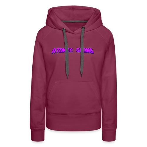 AG_Purple female - Premium hettegenser for kvinner