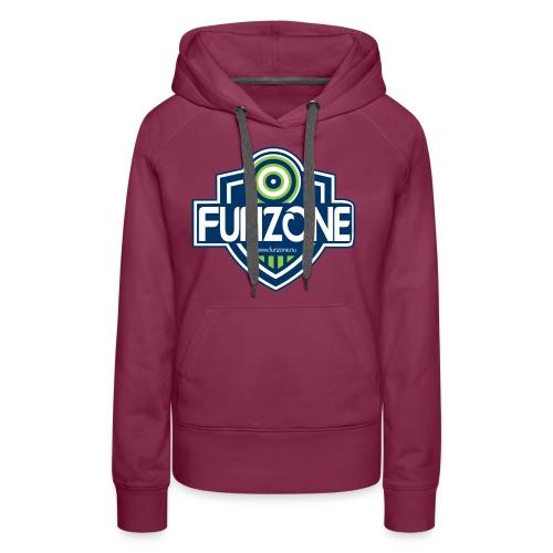 Funzone_logo_ljus_bakgrund - Premiumluvtröja dam