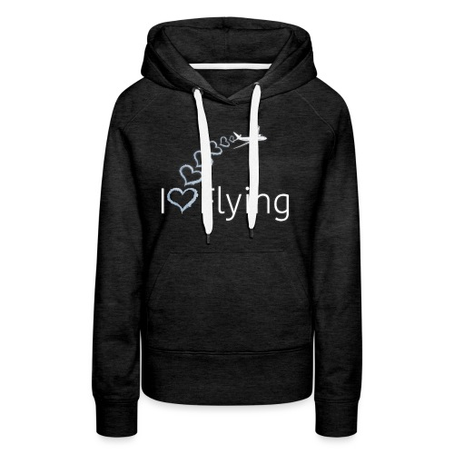 I love flying wit3 - Women's Premium Hoodie