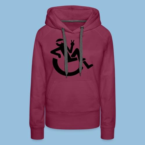 Happyweelchair1 - Vrouwen Premium hoodie