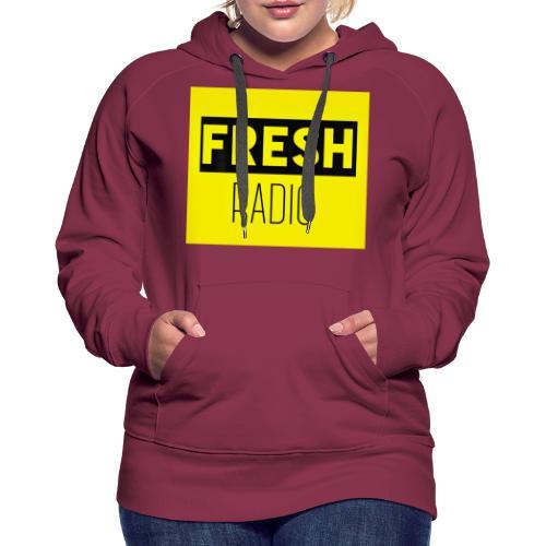 FreshRadio LOGO - Women's Premium Hoodie