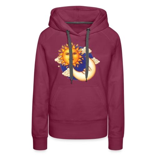 Sun and moon - Vrouwen Premium hoodie