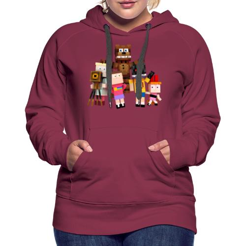 Withered Bonnie Productions - Meet The Gang - Women's Premium Hoodie