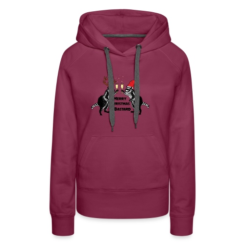 Xmas Raccoons - Women's Premium Hoodie