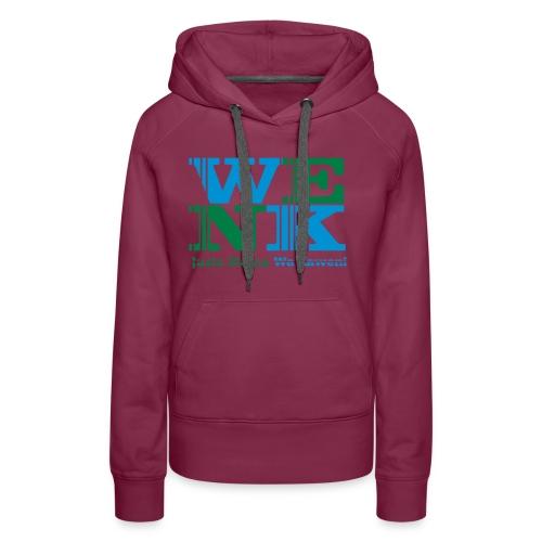 WENK - Sweat-shirt à capuche Premium pour femmes