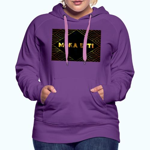 MOKA EFTI FASHION Design - Women's Premium Hoodie