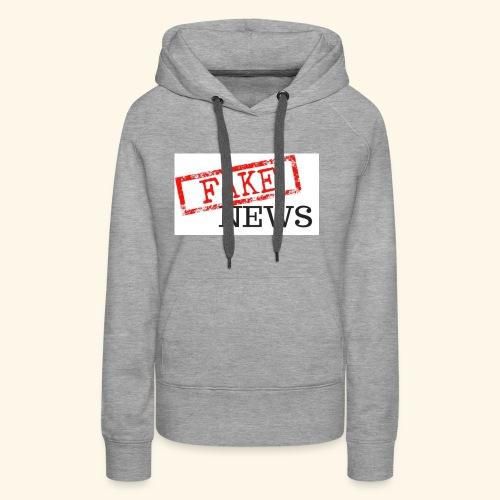 fake news - Women's Premium Hoodie