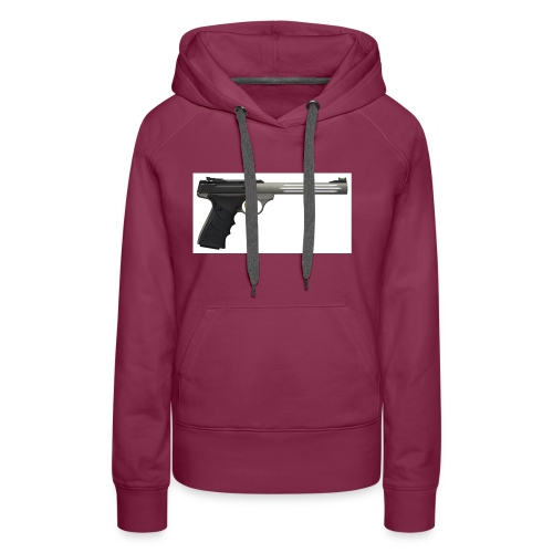 pistol - Dame Premium hættetrøje