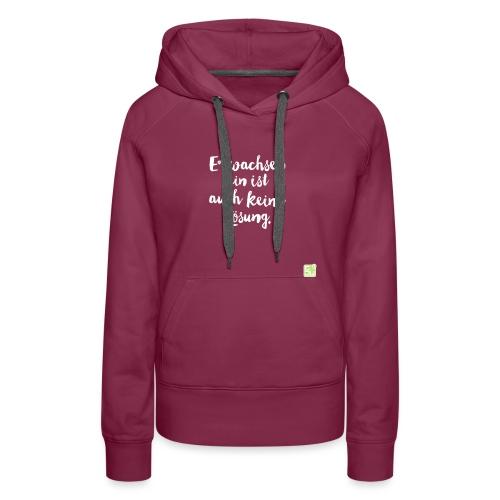 gjw logo cmyk - Frauen Premium Hoodie