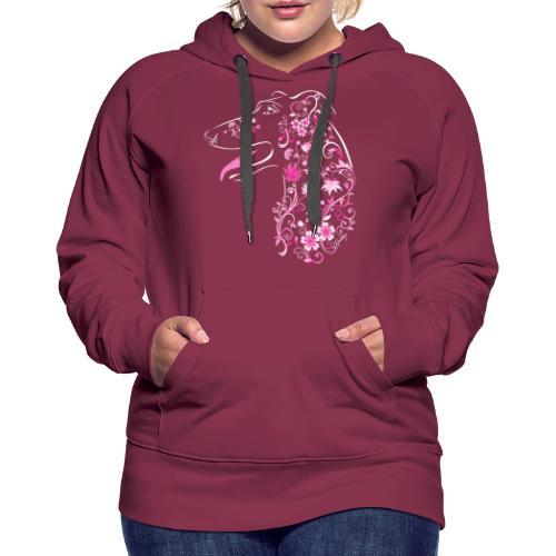 Kukkaisgalgo II - Naisten premium-huppari