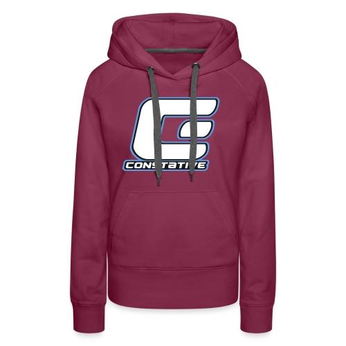 Constative hoodie - Dame Premium hættetrøje