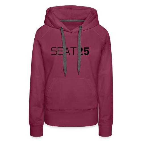 Seat25 Logo Dark - Women's Premium Hoodie