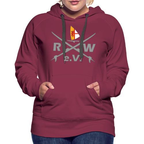 RWeV Boards Grey - Frauen Premium Hoodie