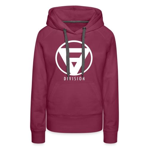 Division Logo Weiß - Frauen Premium Hoodie