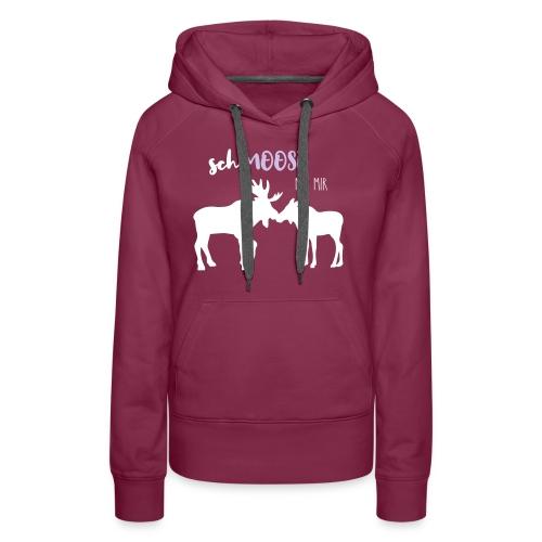 Moose Love - Frauen Premium Hoodie