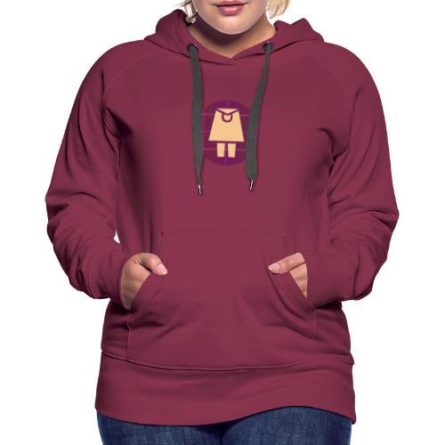 French Kilt, le blog sur l'Ecosse - Sweat-shirt à capuche Premium pour femmes