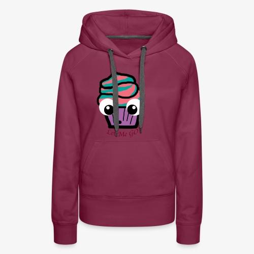 LetMeGO Cupcake - Vrouwen Premium hoodie
