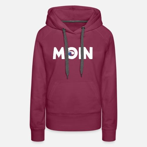 Moin mit Welle - Frauen Premium Hoodie