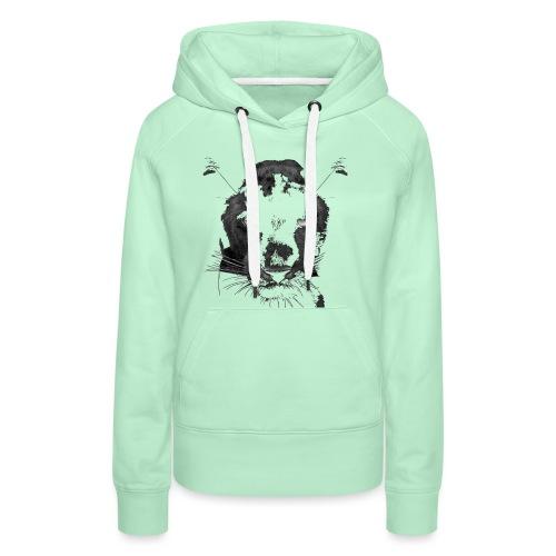 Pantere - Sweat-shirt à capuche Premium pour femmes