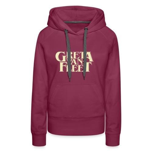 greta van fleet band tour - Sweat-shirt à capuche Premium pour femmes