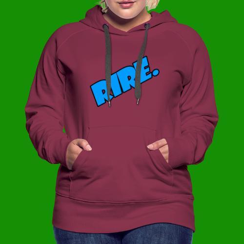 rire - Sweat-shirt à capuche Premium pour femmes
