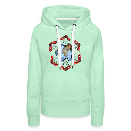 Égoïsme de l'être humain - Sweat-shirt à capuche Premium pour femmes