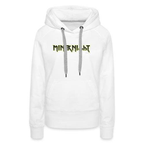 MineKnight T-shirt - Premiumluvtröja dam