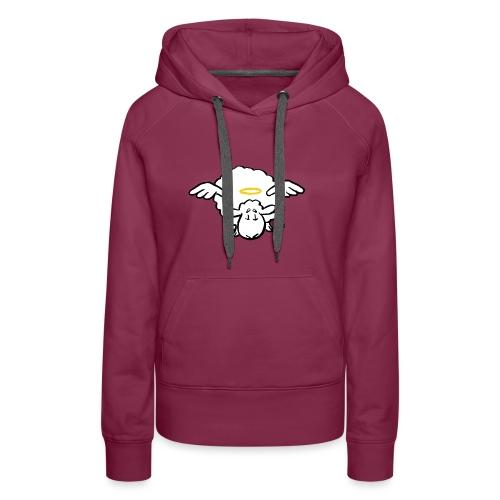Angel Sheep - Sweat-shirt à capuche Premium pour femmes