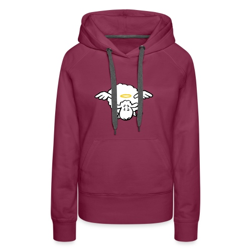 Angel Sheep - Frauen Premium Hoodie