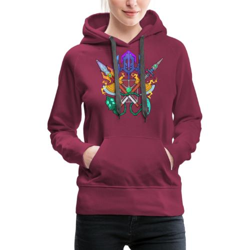 Metamancers - Sweat-shirt à capuche Premium pour femmes