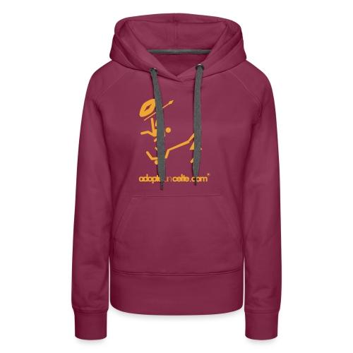 adopte un celte - Sweat-shirt à capuche Premium pour femmes