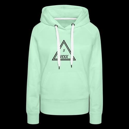 5nexx triangle - Vrouwen Premium hoodie