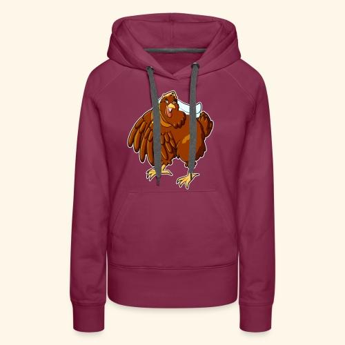 Verrücktes Huhn - Frauen Premium Hoodie